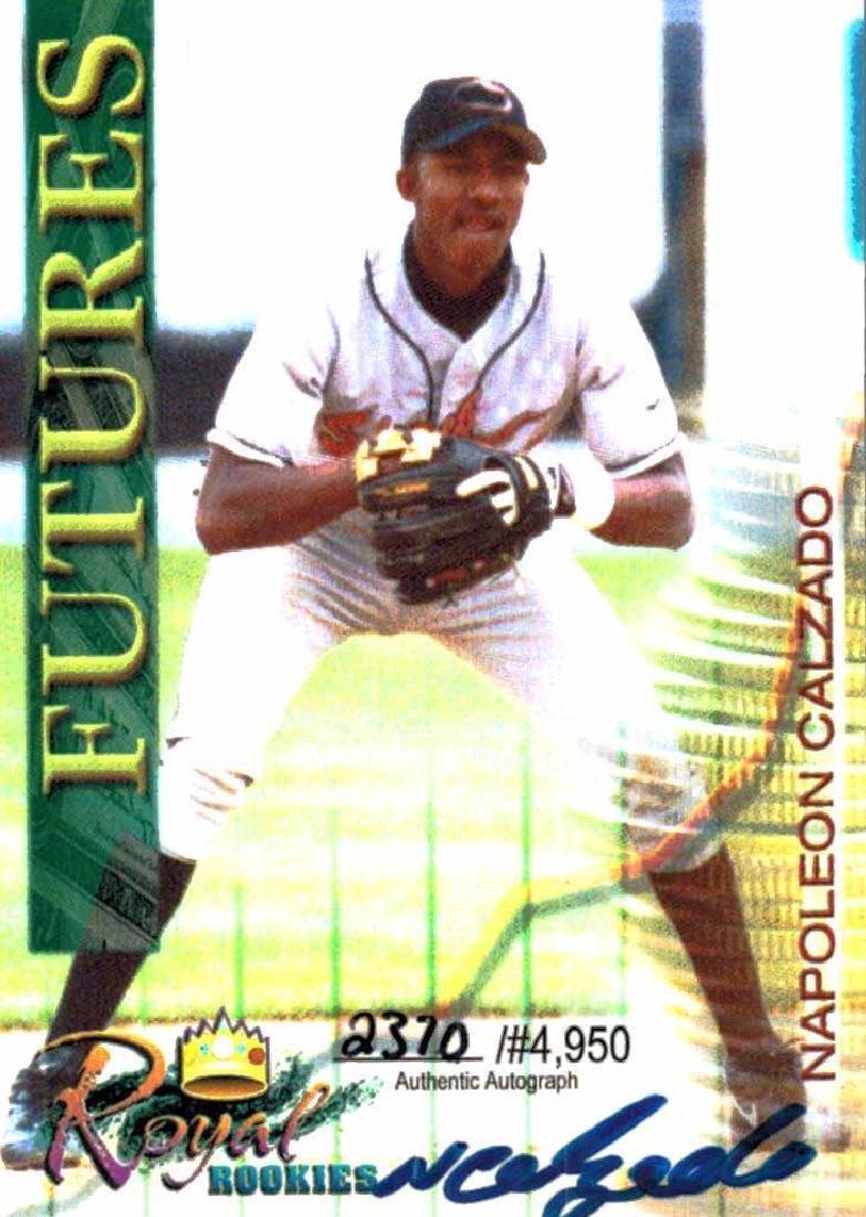3 Baseball Card Autographed Card Lot Tony McKnight