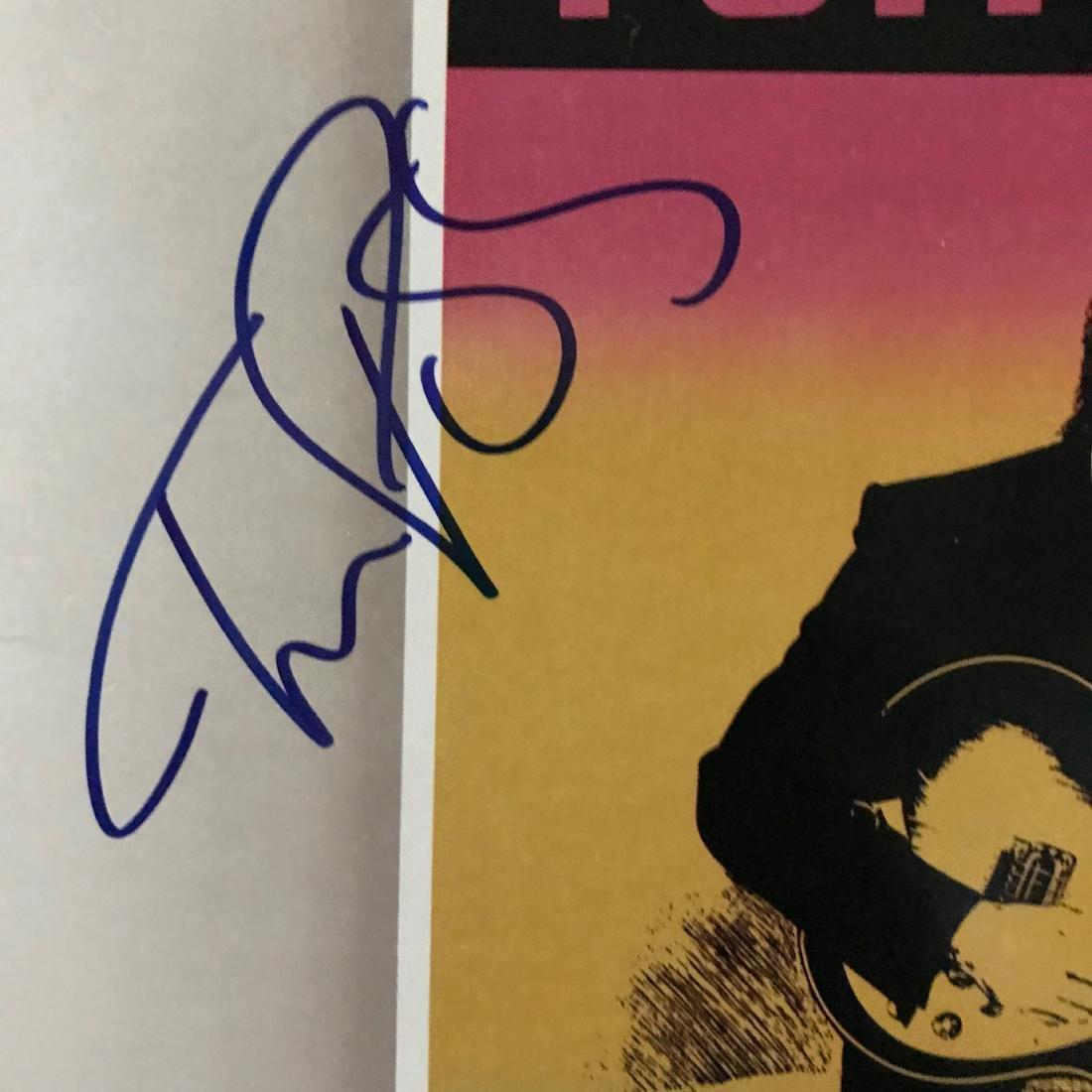 Tom Petty Signed Full Moon Fever album - 2