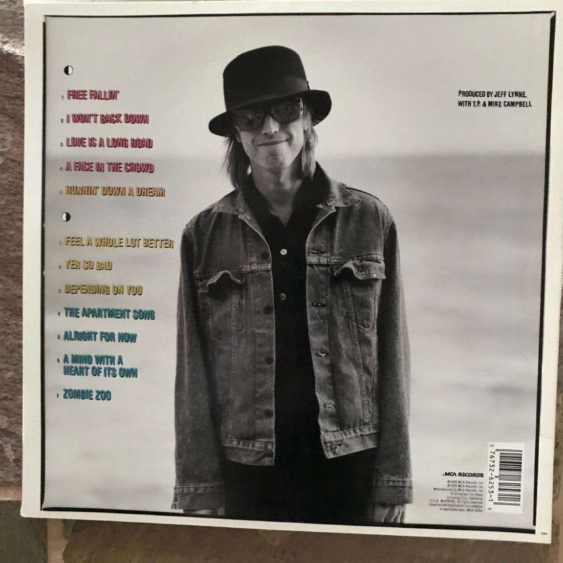 Tom Petty Signed Full Moon Fever album - 3