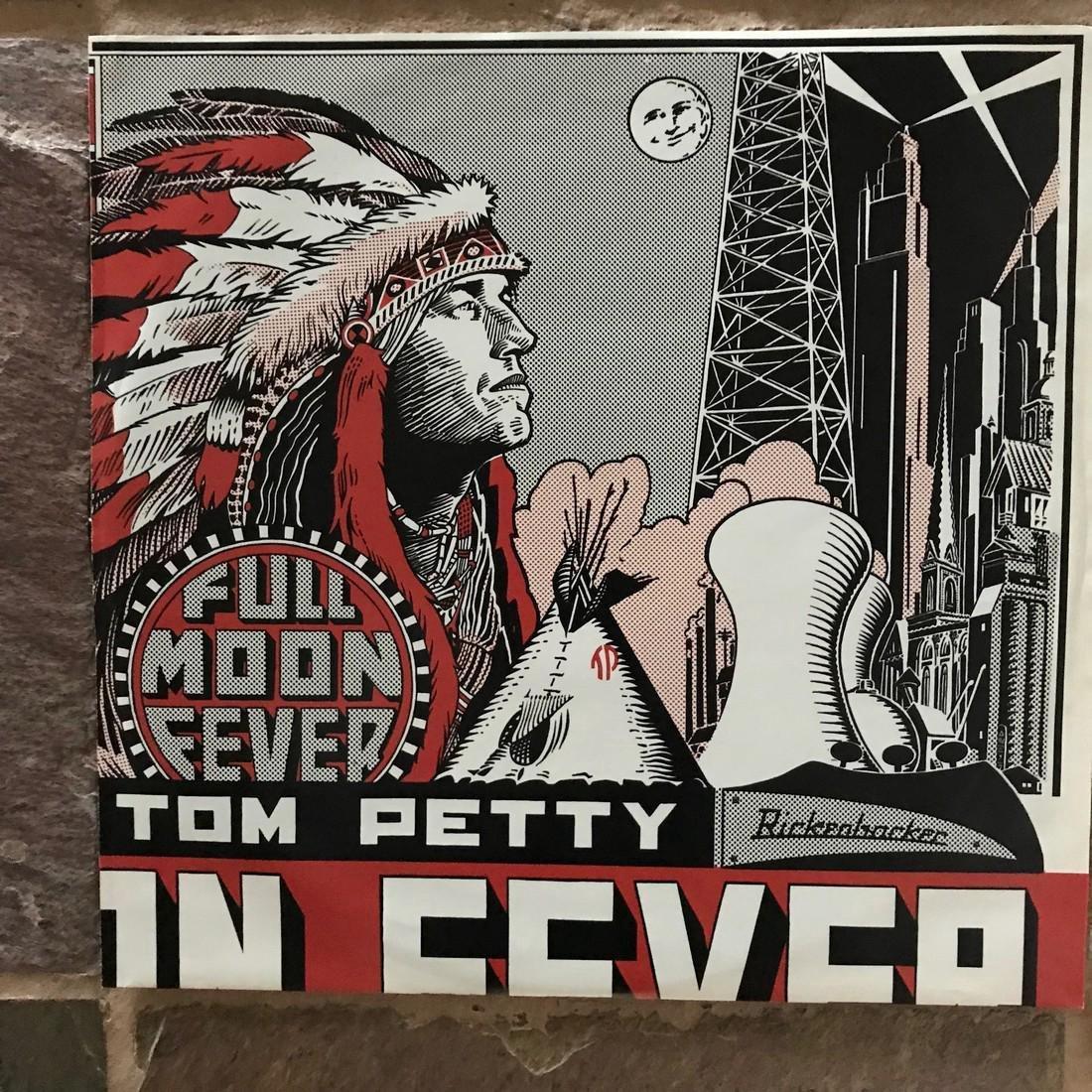 Tom Petty Signed Full Moon Fever album - 4