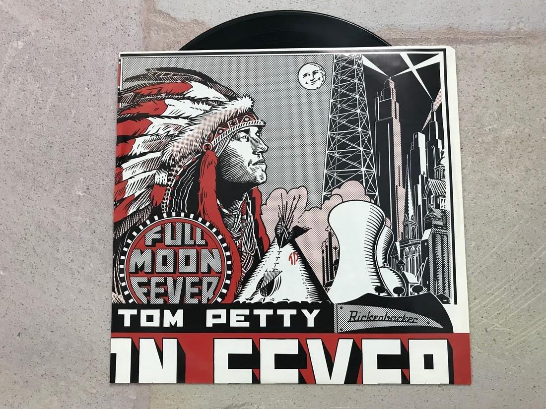 Tom Petty Signed Full Moon Fever album - 6