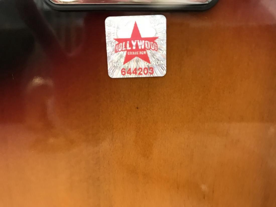 Tom Petty Signed Sunburst California Guitar - 5