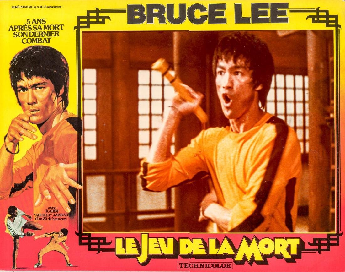 Game of Death 1978 French lobby card