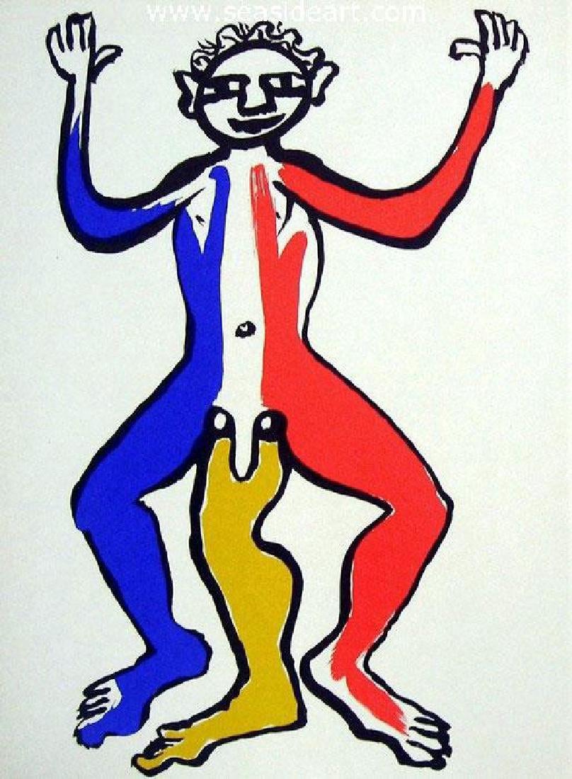 Alexander Calder Figure With Three Legs