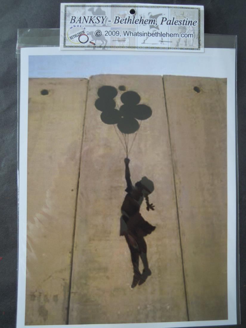 Eight Banksy Shop Prints - 3