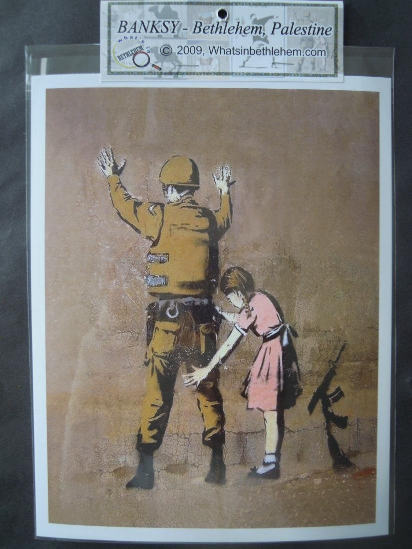 Eight Banksy Shop Prints - 4