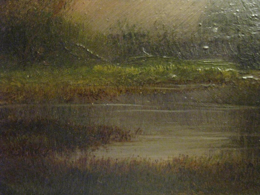 J V Stuart. Swamps of the San Jouquin River Cal, Oil - 2
