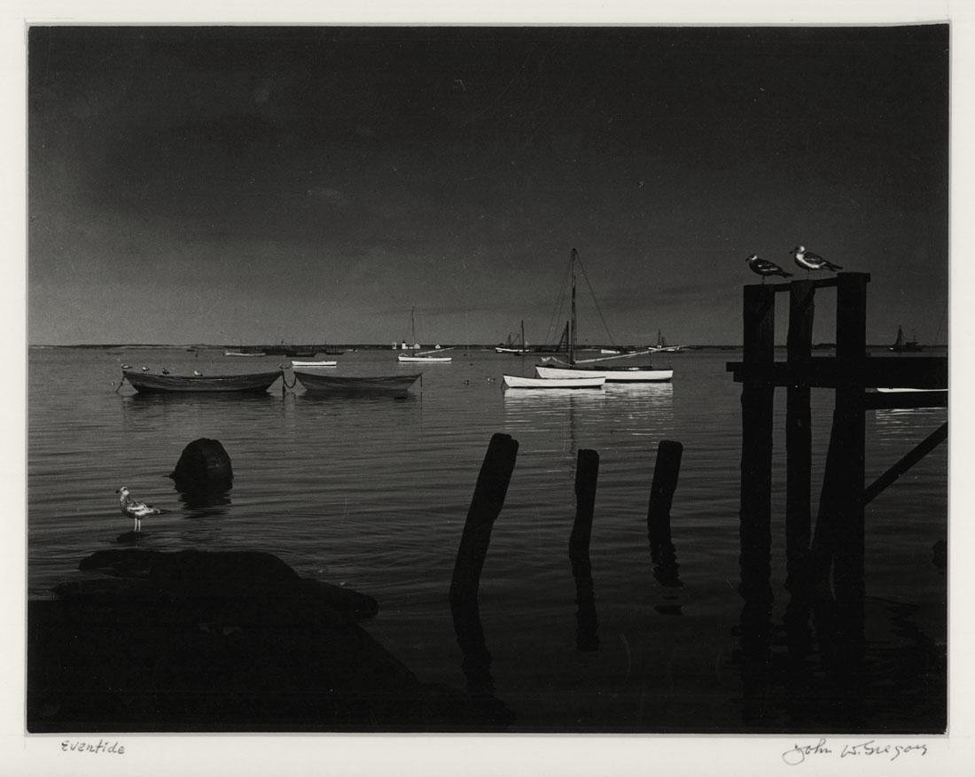 John W. Gregory Signed Photograph Eventide