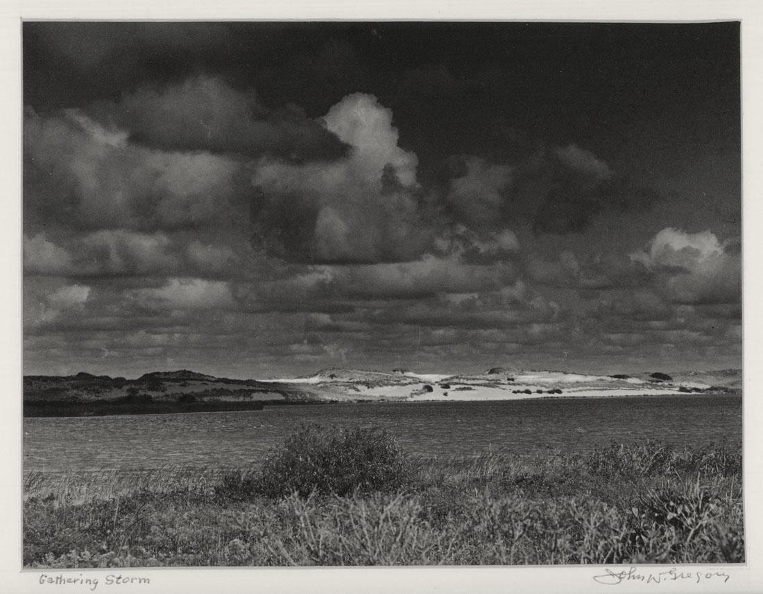 John W. Gregory Signed Photograph Gathering Storm