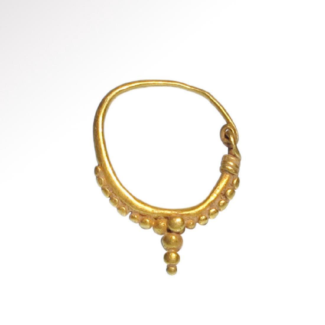 Roman Gold Hoop Earrings, c. 2nd-4th Century A.D. - 3