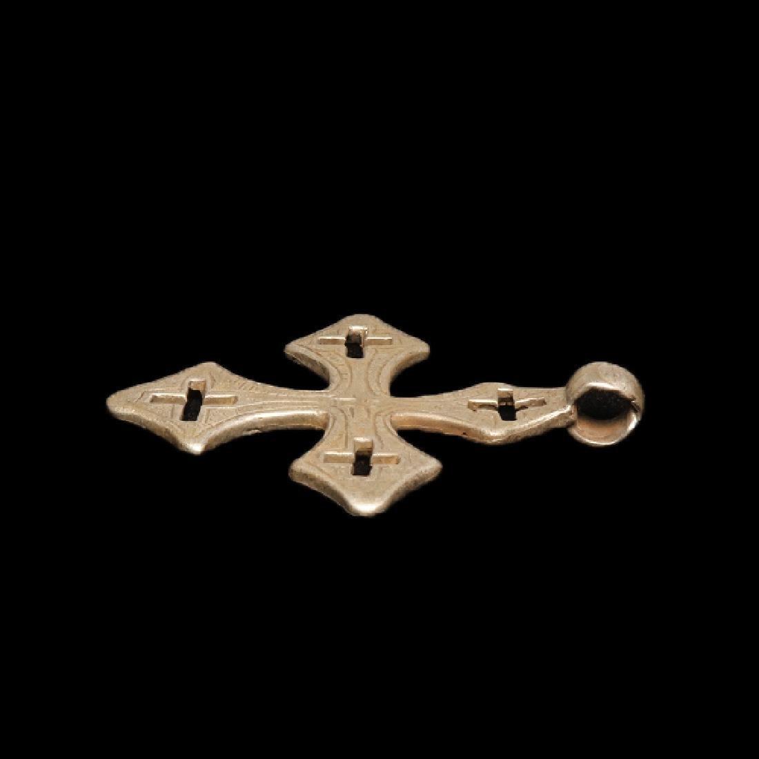 Byzantine Silver Cross, c. 8th-10th Century A.D. - 4