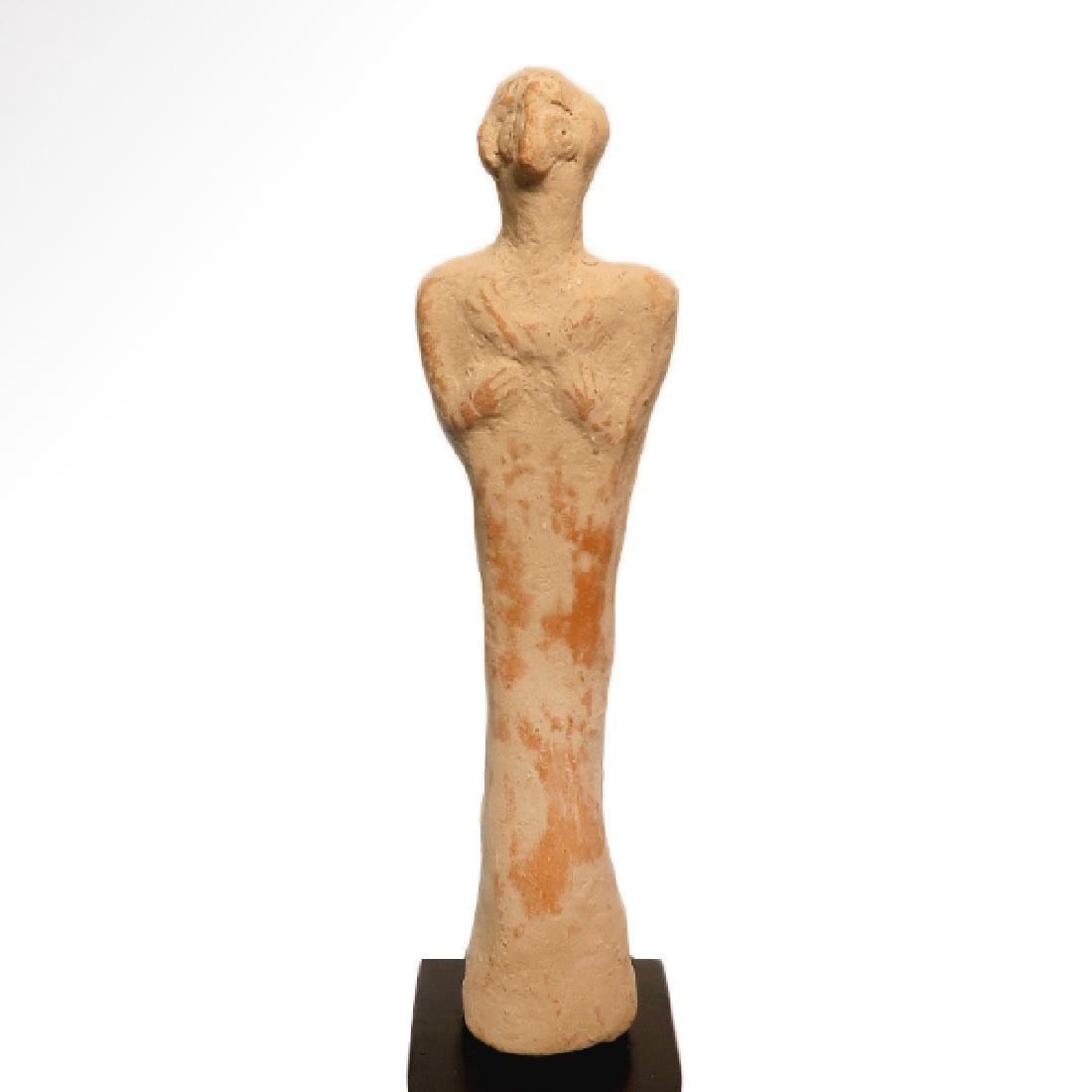 Early Syro-Hittite Figure of Goddess Astarte, c. 1700 - 2