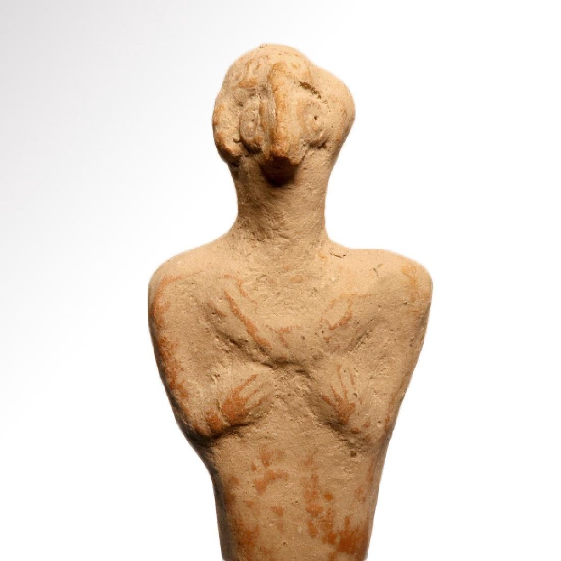 Early Syro-Hittite Figure of Goddess Astarte, c. 1700 - 3
