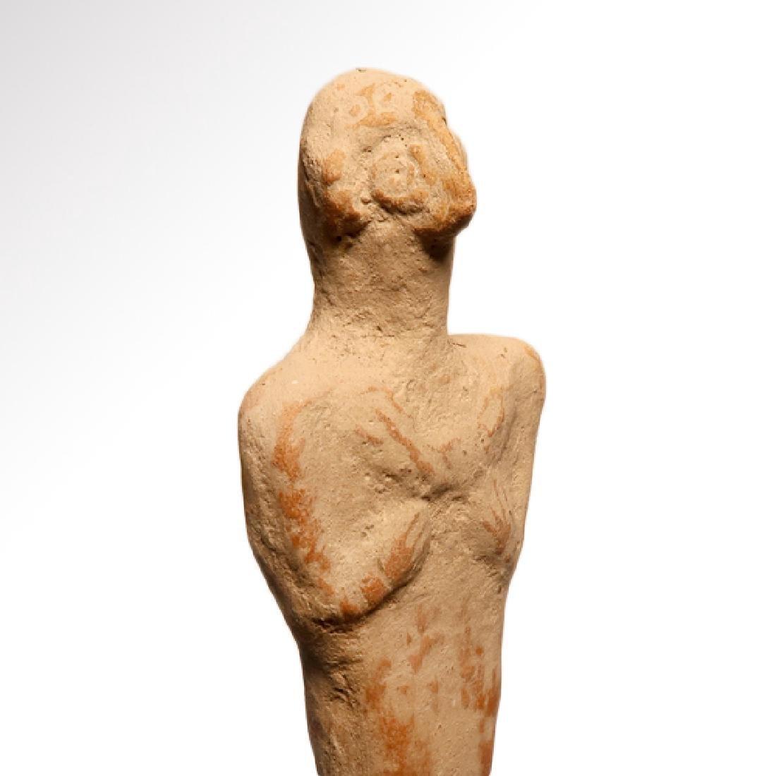 Early Syro-Hittite Figure of Goddess Astarte, c. 1700 - 4