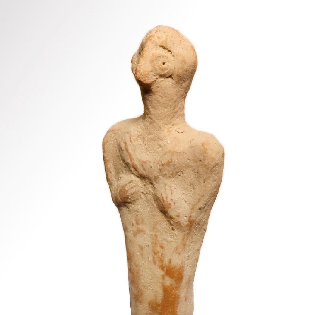 Early Syro-Hittite Figure of Goddess Astarte, c. 1700 - 5