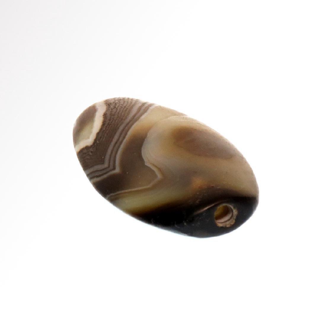 Banded Agate Bead, Near-East, c. 1st Millenium B.C. - 4