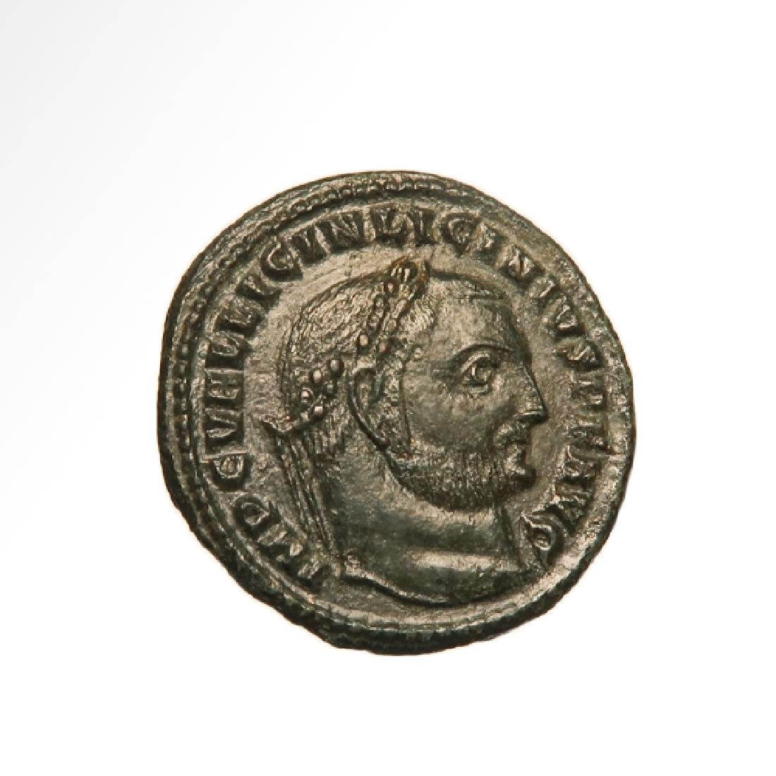 Roman Coin Follis of Emperor Licinius, c. 308-324 A.D.