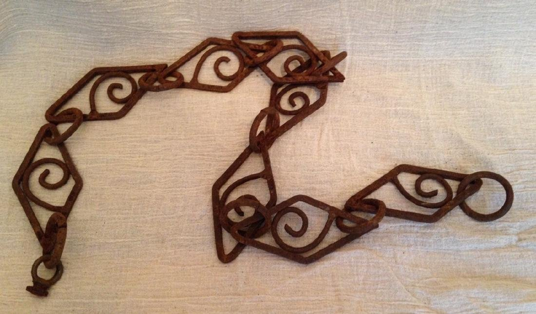 Fancy Iron Chain Early 20th Century - 2