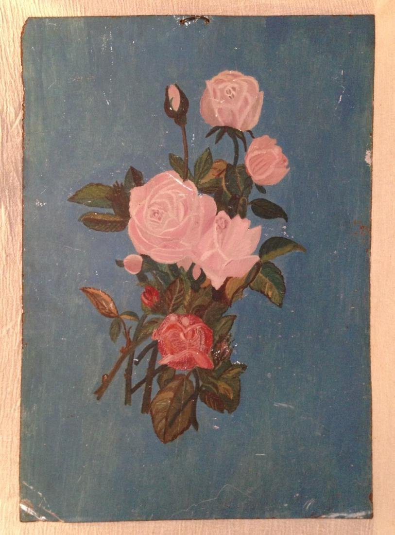 Painting of Roses 19th Century