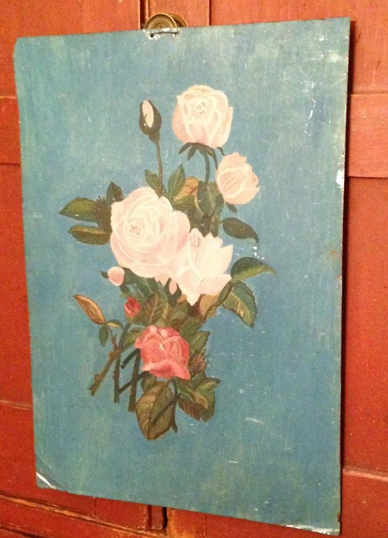 Painting of Roses 19th Century - 3