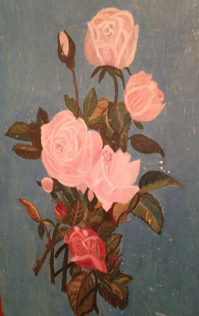 Painting of Roses 19th Century - 4