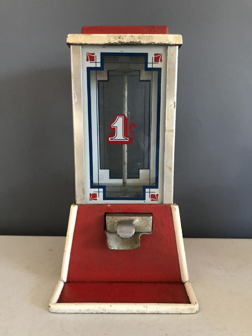 Art Deco 1-cent Gum Dispenser by Dean