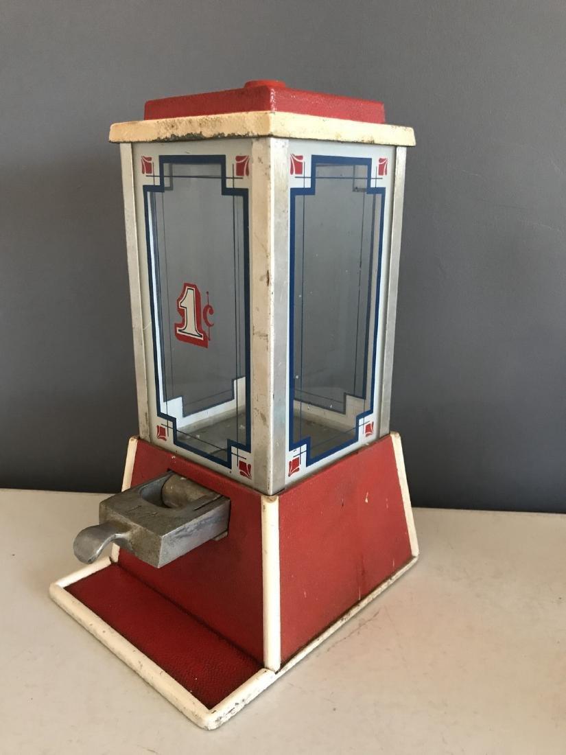 Art Deco 1-cent Gum Dispenser by Dean - 3
