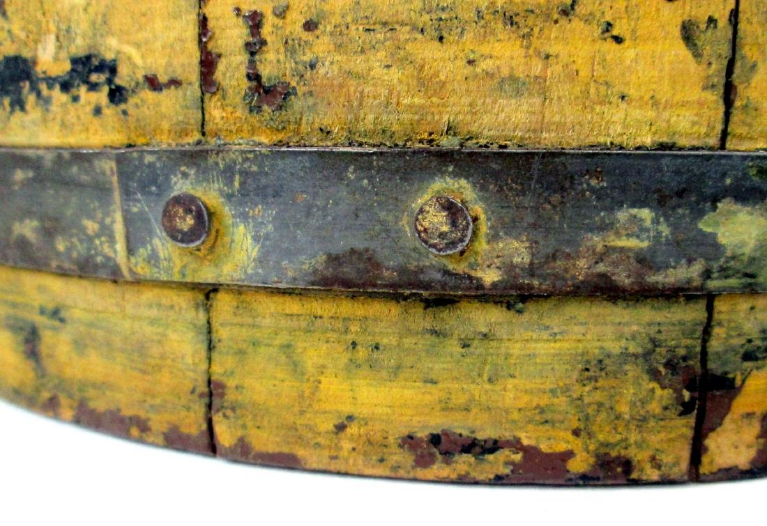 Chrome Yellow Tapered Bucket Late 19th Century - 6