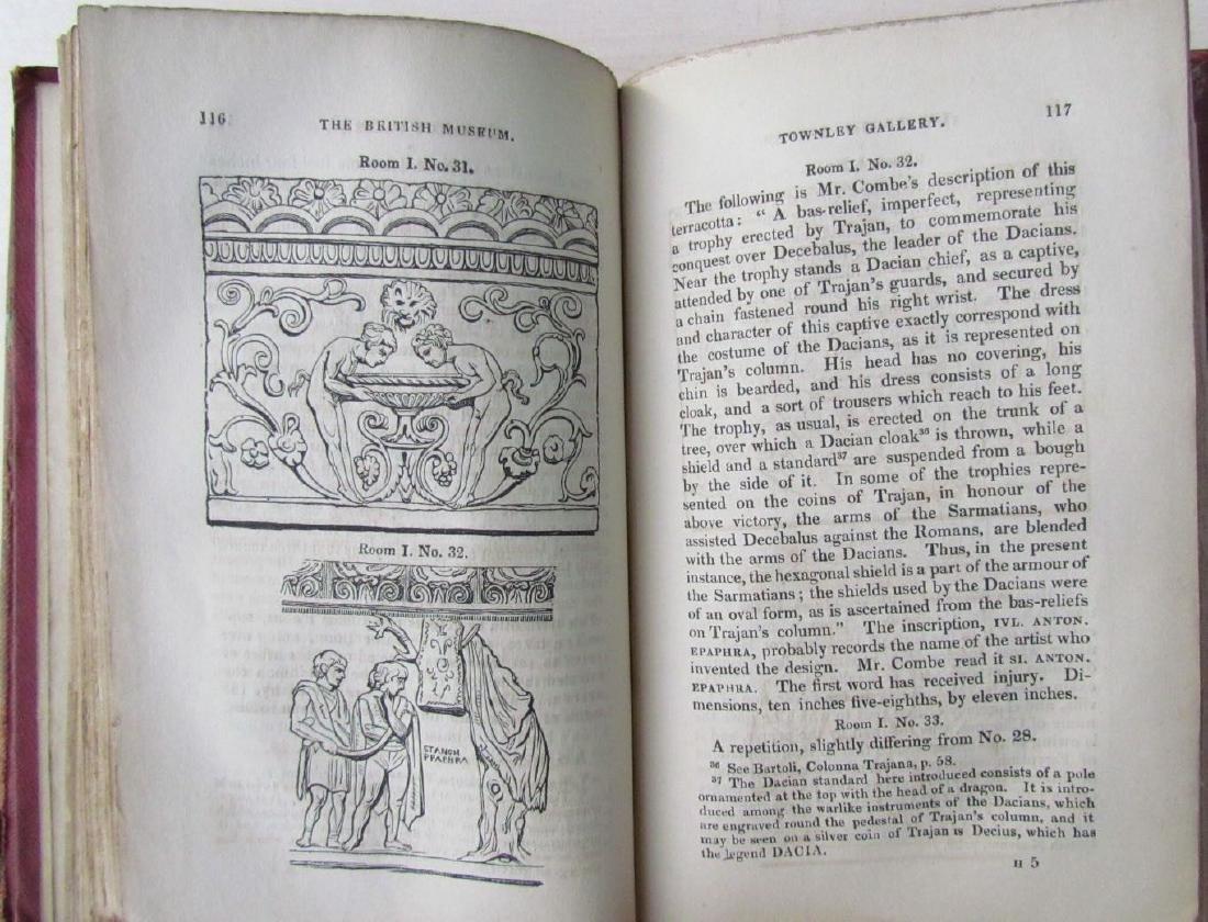 1846 2 Antique Vols Townley Gallery Classic Sculptures - 4