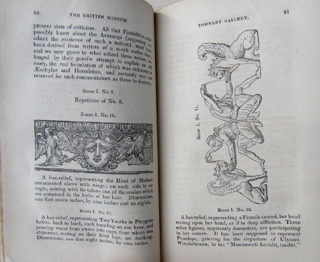 1846 2 Antique Vols Townley Gallery Classic Sculptures - 5