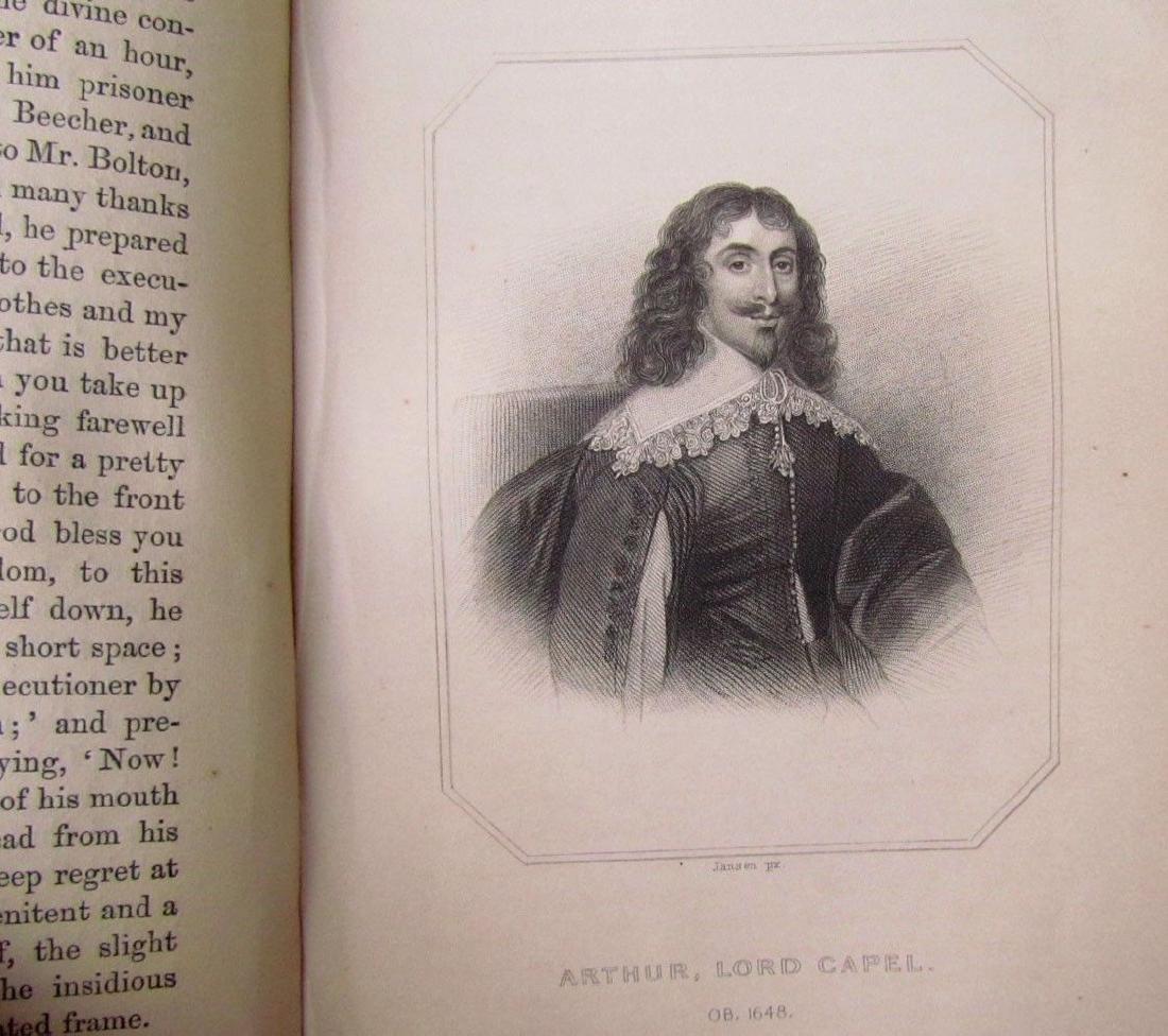 1857 Antique 4 Vol England Under Stuarts & Memoirs - 4