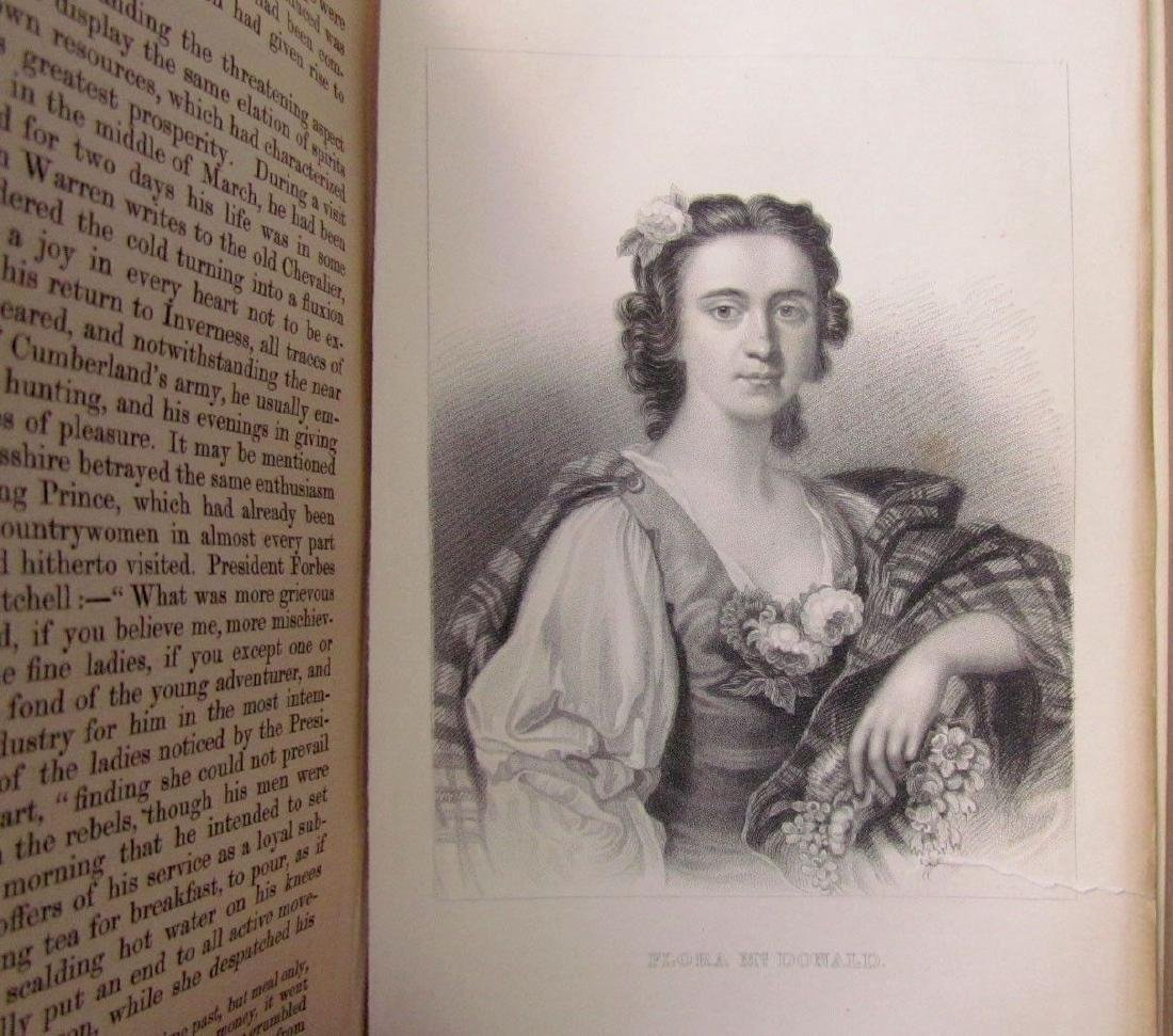 1857 Antique 4 Vol England Under Stuarts & Memoirs - 5