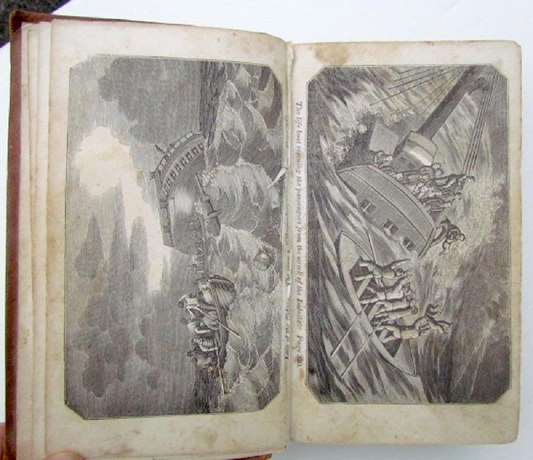 1836 Antique Narratives Most Remarkable Shipwrecks - 2