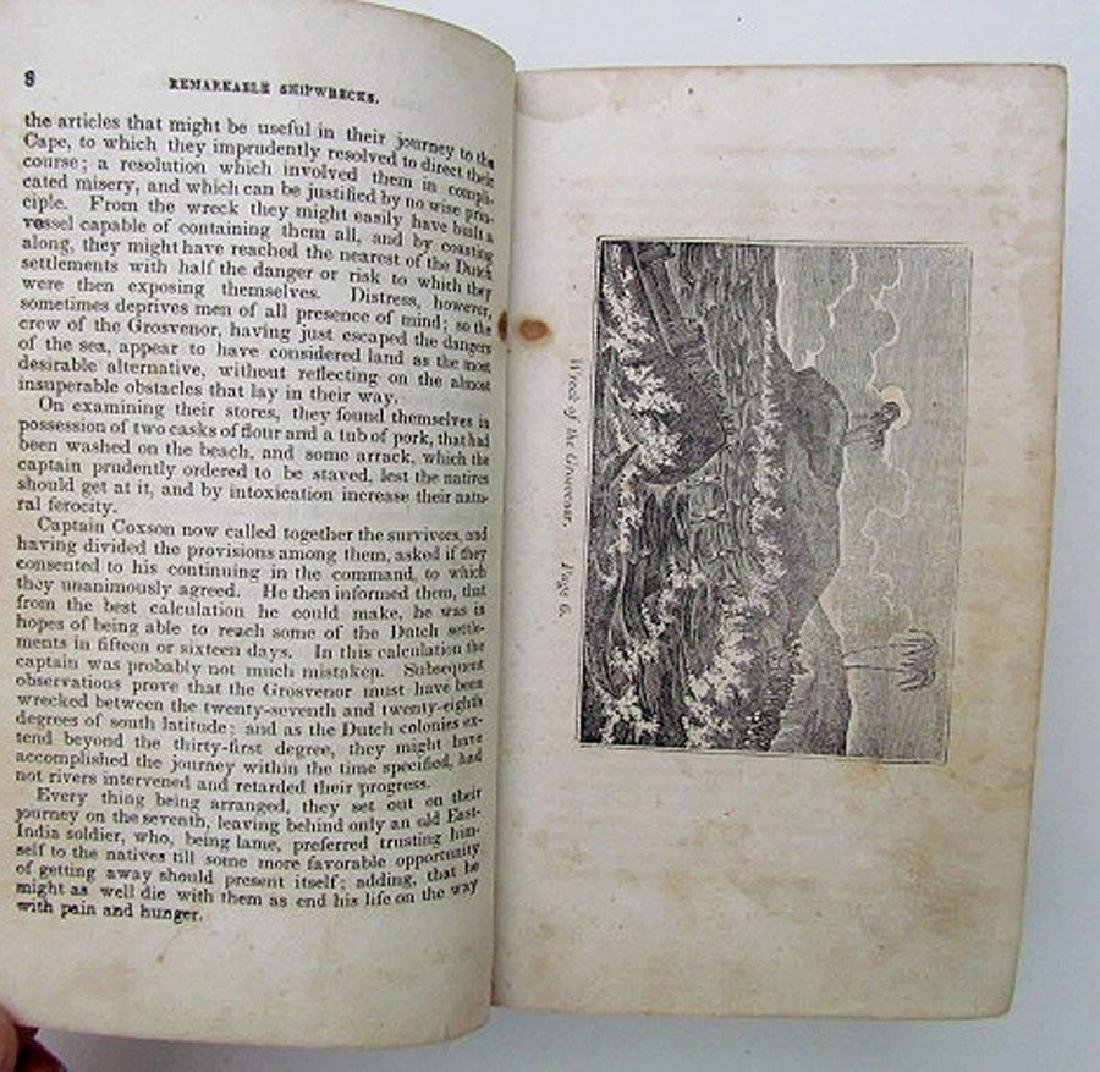 1836 Antique Narratives Most Remarkable Shipwrecks - 4