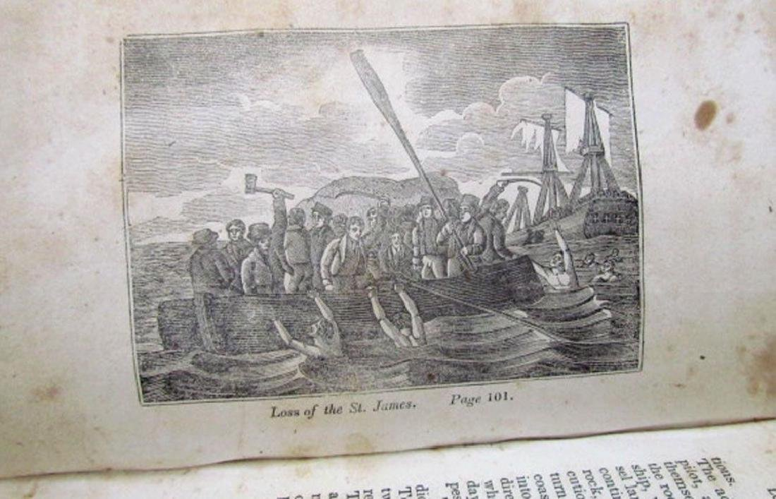 1836 Antique Narratives Most Remarkable Shipwrecks - 7