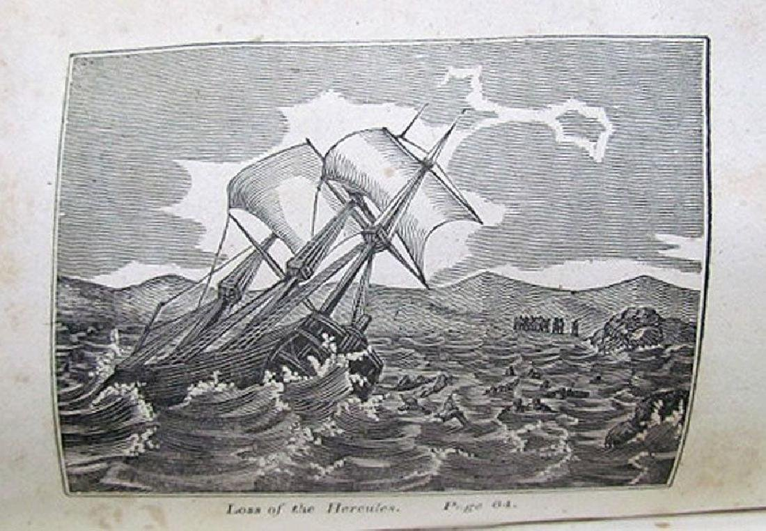 1836 Antique Narratives Most Remarkable Shipwrecks - 9