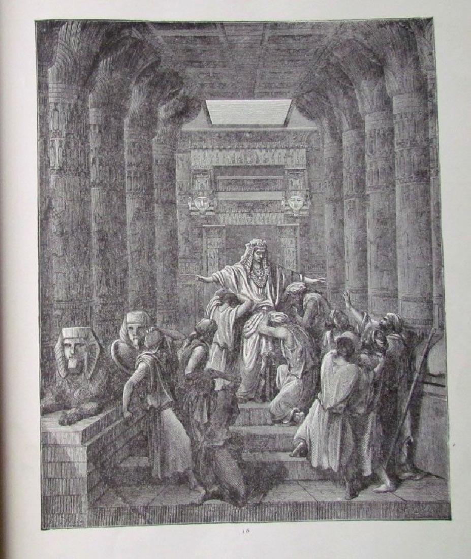 Antique 1880s Dore Bible Gallery Illustrated Folio - 3