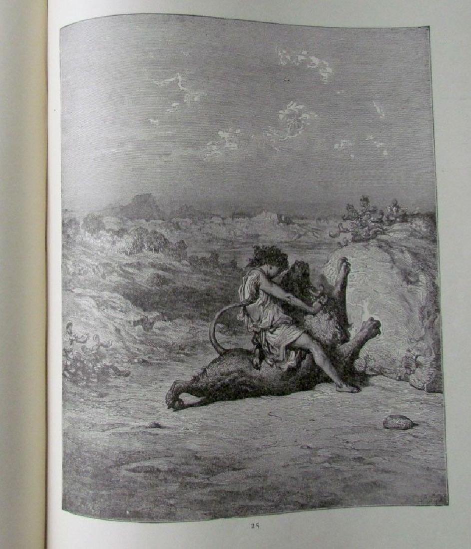 Antique 1880s Dore Bible Gallery Illustrated Folio - 5