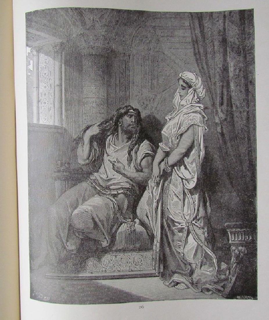 Antique 1880s Dore Bible Gallery Illustrated Folio - 6
