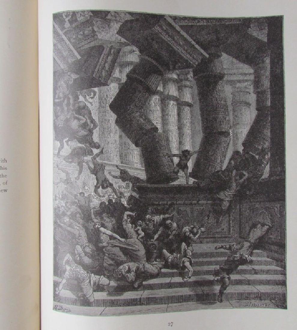 Antique 1880s Dore Bible Gallery Illustrated Folio - 7