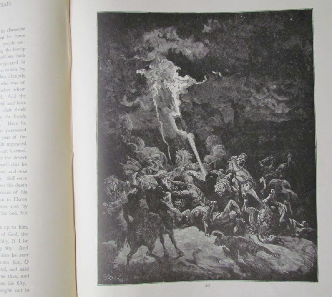 Antique 1880s Dore Bible Gallery Illustrated Folio - 8