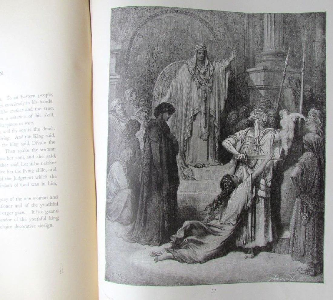 Antique 1880s Dore Bible Gallery Illustrated Folio - 9
