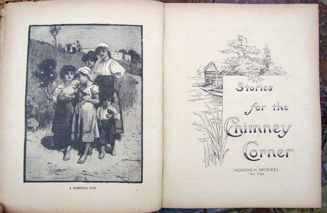 Antique Children Book Stories for the Chimney Corner - 2