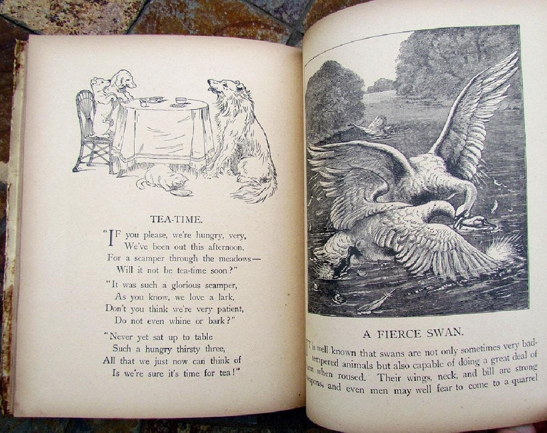 Antique Children Book Stories for the Chimney Corner - 7