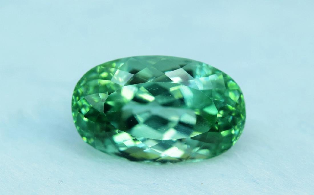 19.70 Carat Loose Lush Green Color Flawless Kunzite