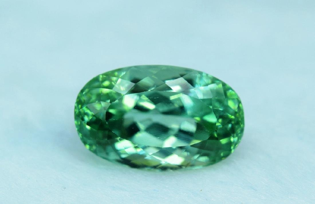 19.70 Carat Loose Lush Green Color Flawless Kunzite - 2