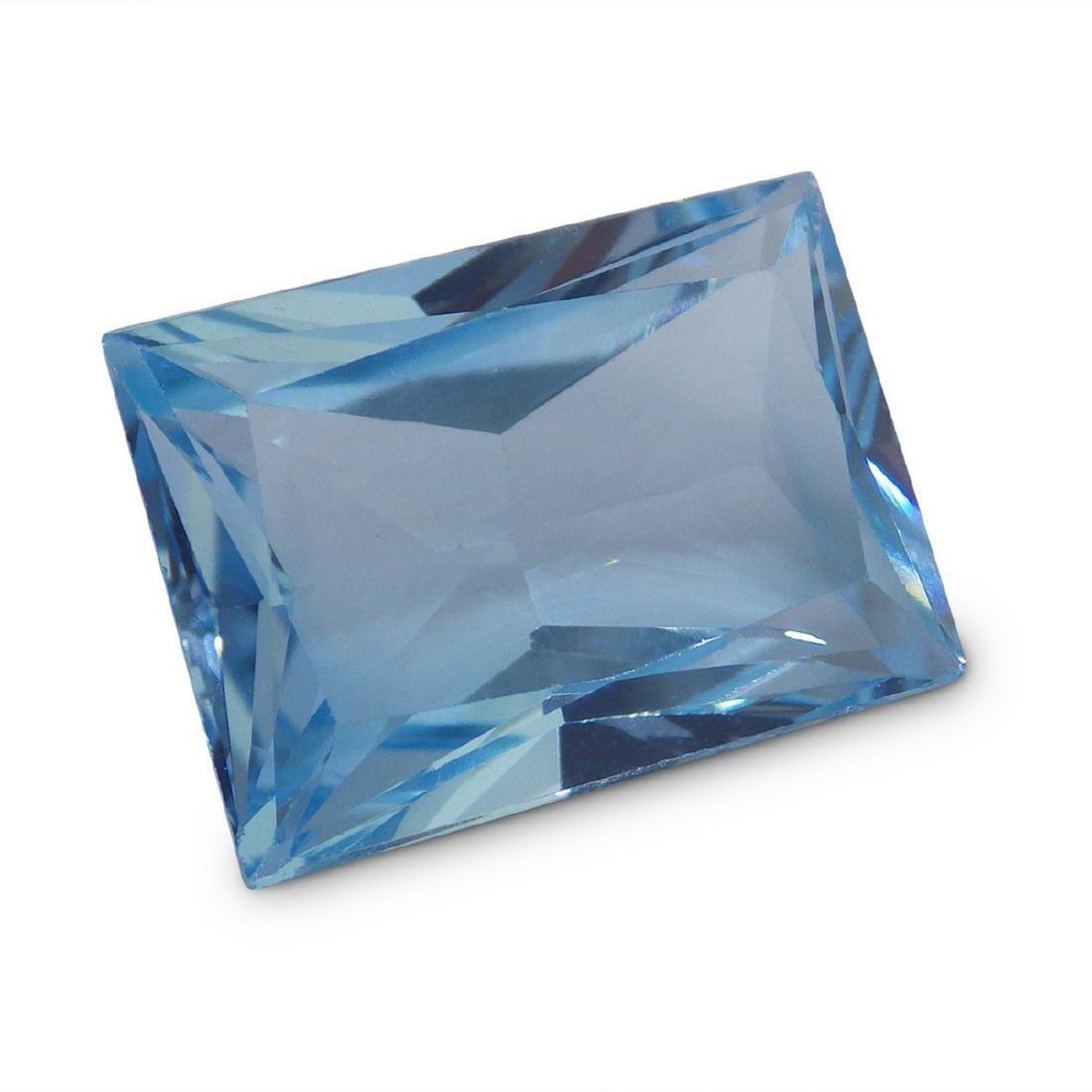 19.47 Carat Loose Emerald Blue Topaz