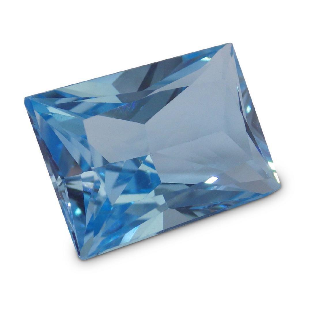 19.47 Carat Loose Emerald Blue Topaz - 4