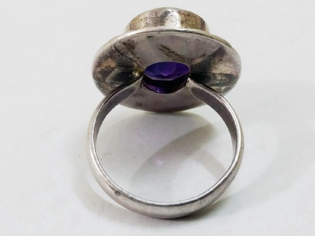 Sterling Silver Amethyst Ring - 2