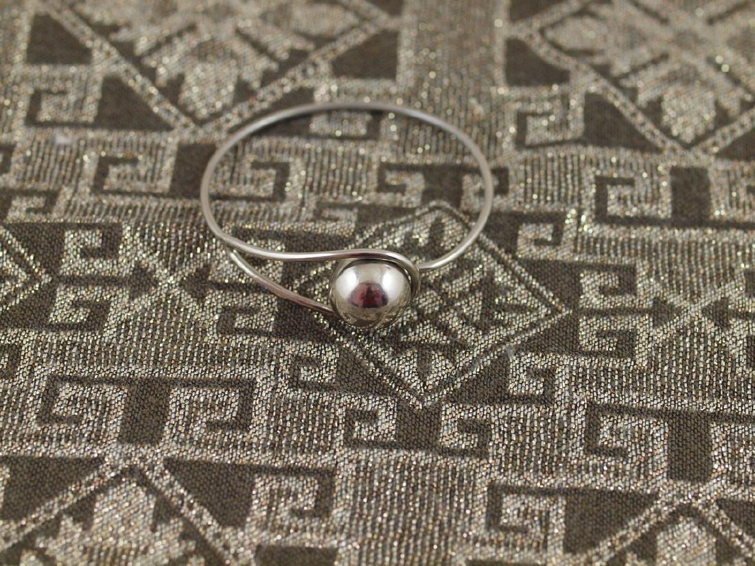 Rigid Vintage Silver Bracelet